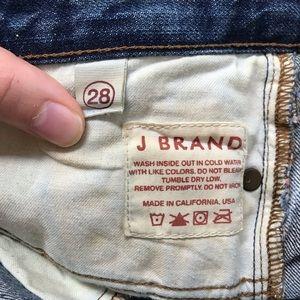 J Brand Shorts - J Brand Selvage Cuffed Jean Shorts